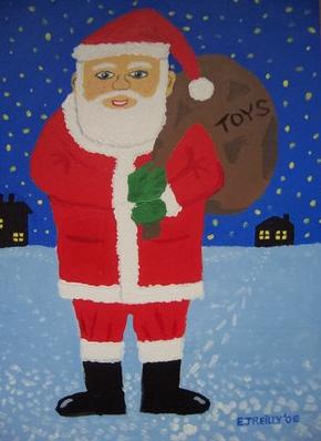 Santa Claus por EAMONREILLY